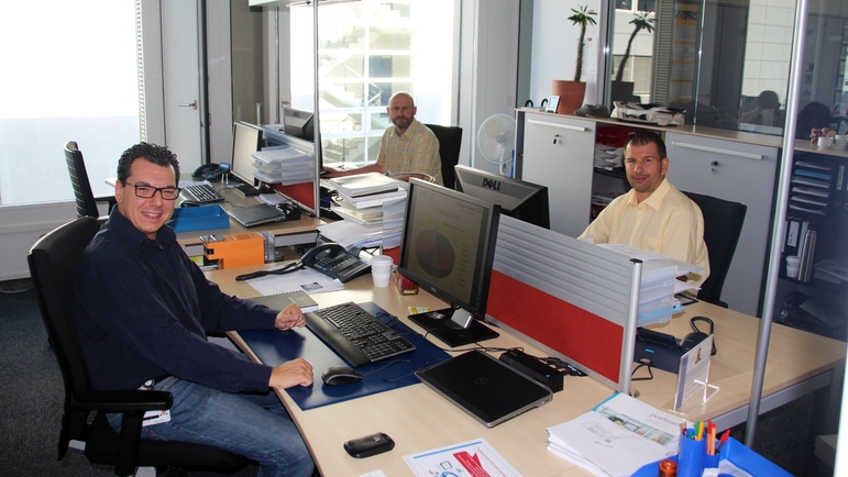 Internal Sales of Endress+Hauser Europe Africa Support Center in Switzerland