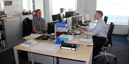 Sales office of Endress+Hauser Europe Africa Support Center in Switzerland