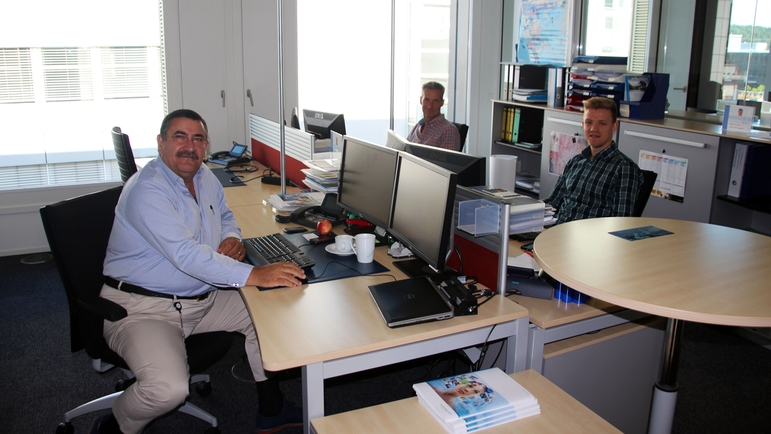 External sales of Endress+Hauser Europe Africa Support Center in Switzerland