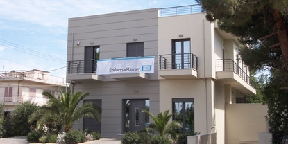 Endress+Hauser sales center in Greece