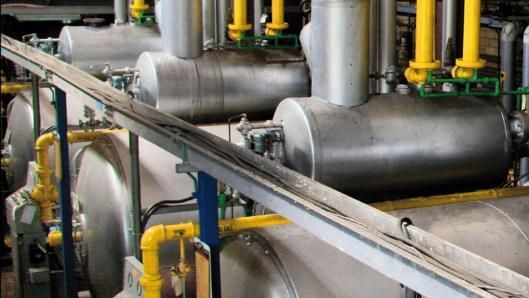 Continuous cost reduction by monitoring the fuel usage or boiler efficiency