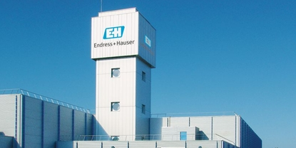 Endress+Hauser Flowtec, Cernay, water tower